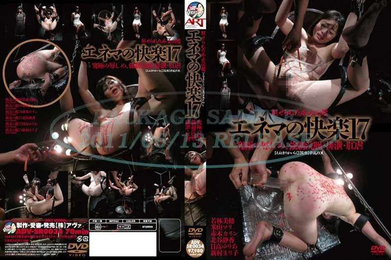 ADV-SR0034 17 Pleasure Of Enema Was Fascinated Book Slut