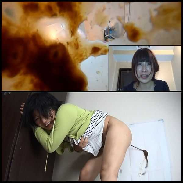 (BFJG-13) Self filmed enema excretion