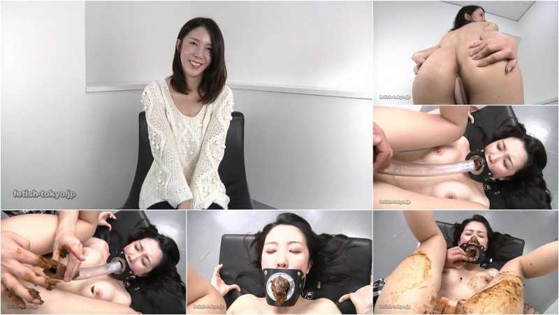 FTV-50 | Beautiful girl shitting in her own mouth thru the pipe.