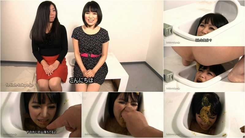 FTV-62 | Head in the toilet. Lesbian face shitting. #2