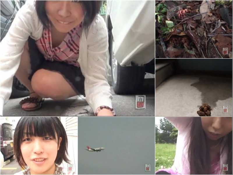 JG-080 | Amateur excretion selfies. Outdoor peeing and pooping. FILE 6