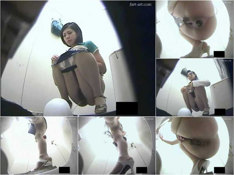 UJTE-01 | Uncensored Japanese toilet pooping and peeing. #1
